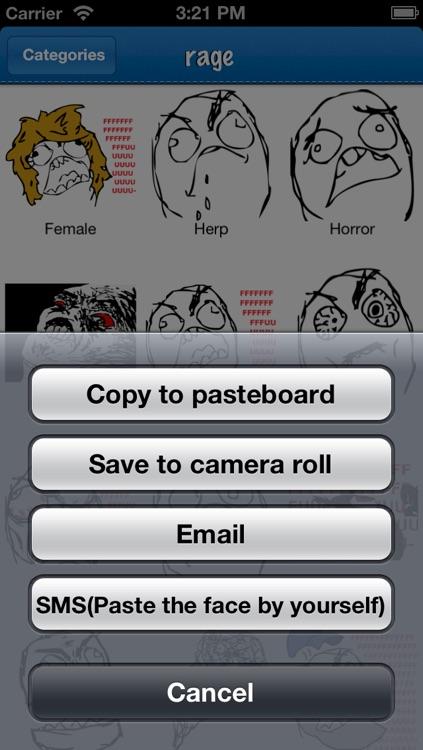 Emoji: Rage Faces screenshot-3