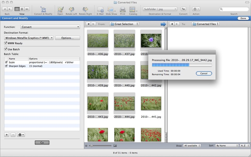 GraphicConverter Screenshot