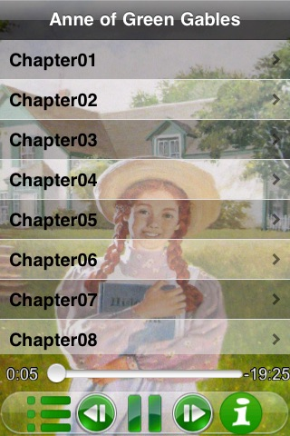 SyncAudioBook-Anne of Green Gables (Classic Collection) screenshot-1