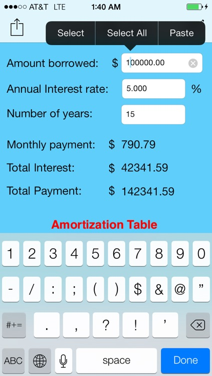 Simple Loan Calculator screenshot-0
