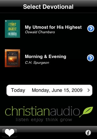 iDevotional: a daily audio devotional screenshot-3