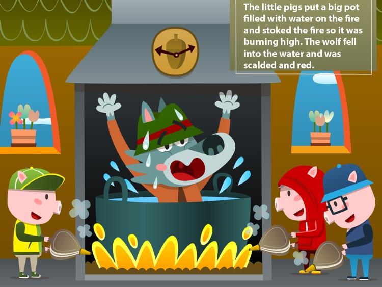 Three little pigs Lite - Playbook screenshot-4
