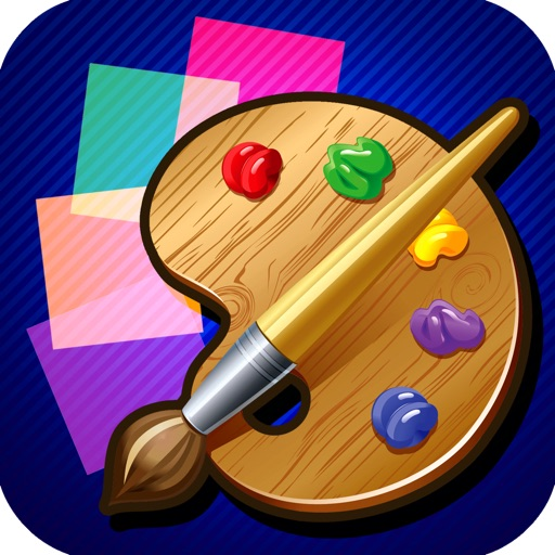 A Square Spin Paint Magic Pro Game Full Version icon