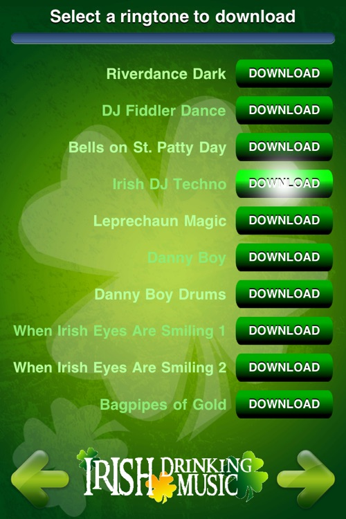 Irish Drinking Music Ringtones screenshot-2