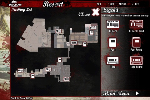 Official Dead Island Map App screenshot-3