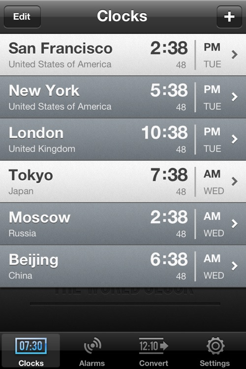 The World Clock screenshot-1
