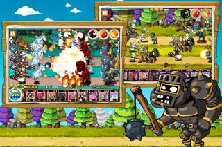 9Heroes Defence : Zombie Invasion iPhone app afbeelding 3