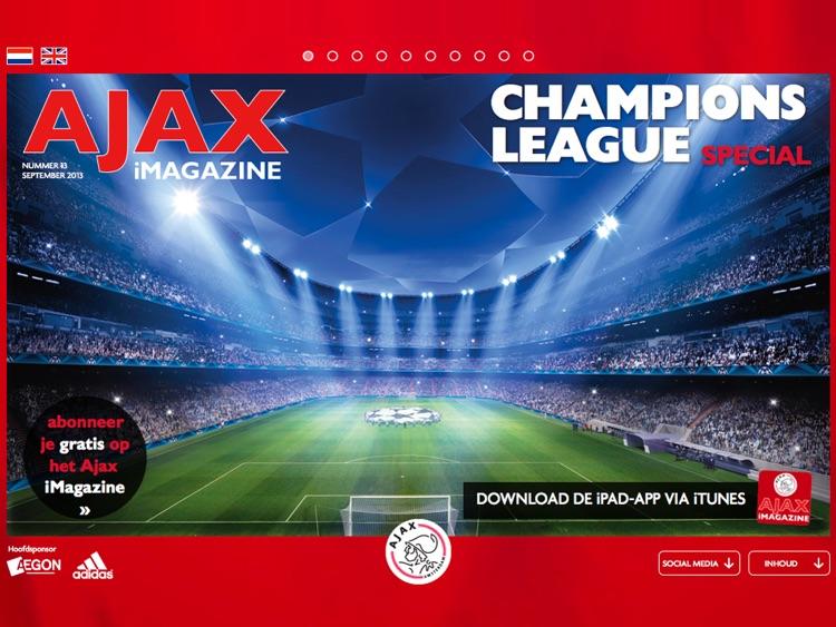 Ajax iMagazine App