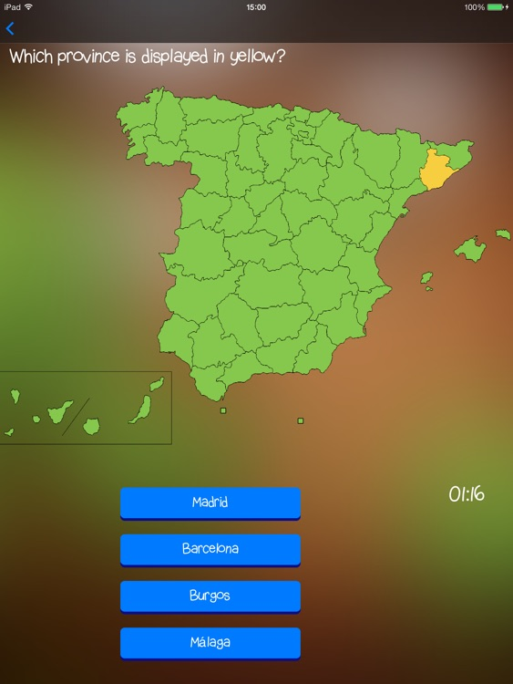 TopoTrainer Spain - Geography for everyone!