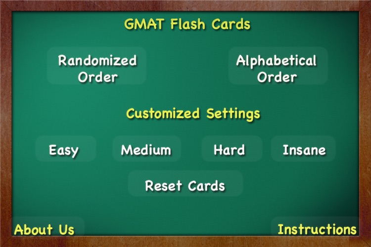 GMAT Flash Cards - 5000+Words