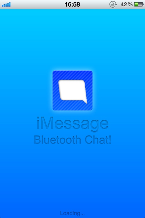 iMessage - Bluetooth Message!