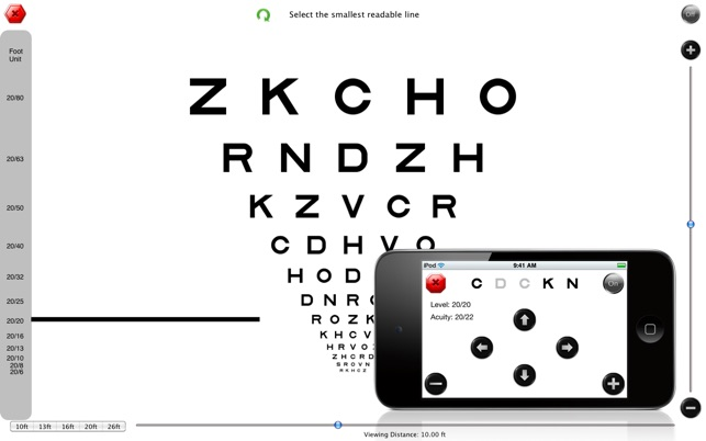 Visual Acuity On The Mac App Store