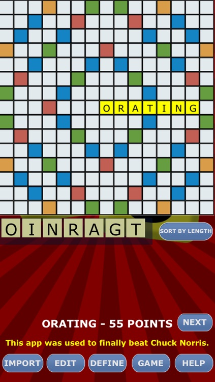 Dictionary Board Solver for Words With Friends + HD screenshot-3