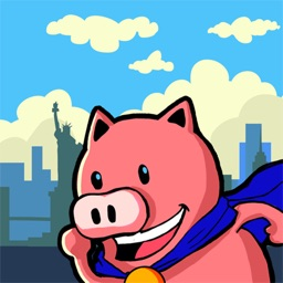 Mine The Bacon - An exciting racing game- Iggy Piggy in New York City