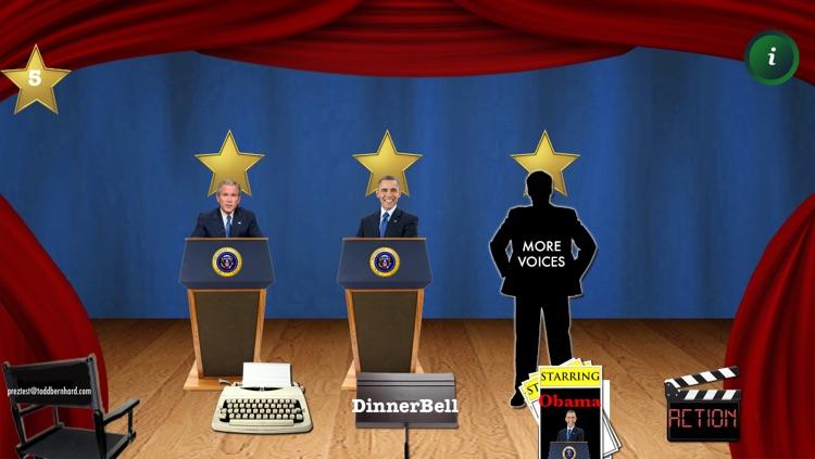 Presidential Ringtone Director: Obama & Bush TTS Voices for Talking CallerID Ringtones