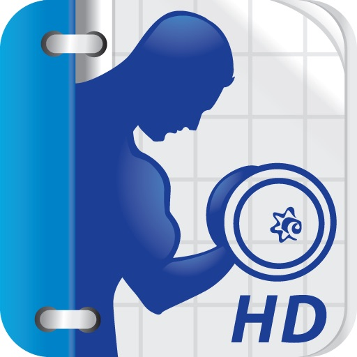 Fitness Buddy for iPad : 1700+ Exercise Workout Journal icon