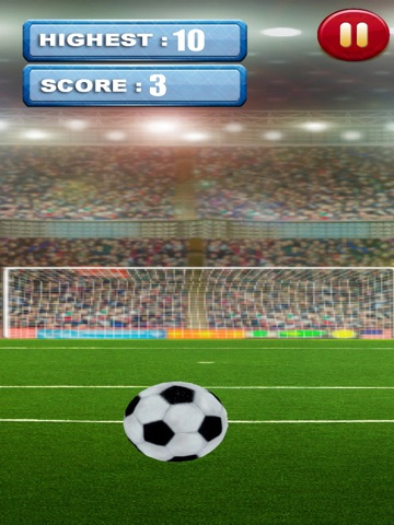 3D Soccer Field Foot-Ball Kick Score - Fun-nest Girl and Boy Game for Free-ipad-0