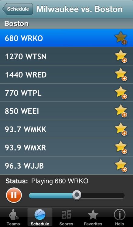 Pro Hoops Radio & Live Scores screenshot-3