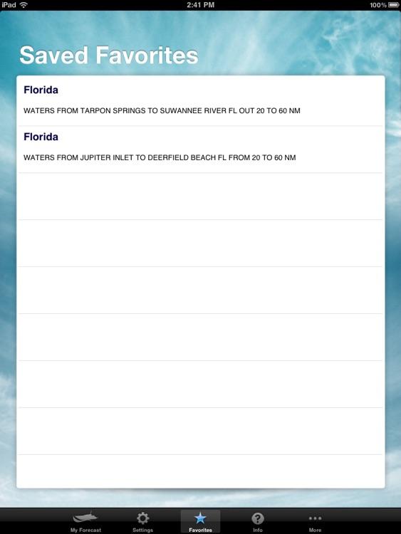 Boating Weather for iPad screenshot-3