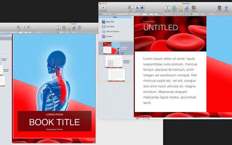 Templates for iBooks Author - App Download - App Store | iOS Apps