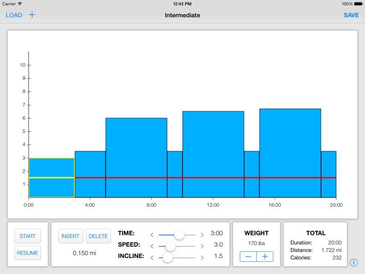 Treadmill Interval Running screenshot-1