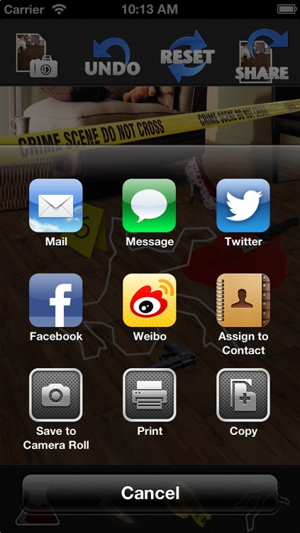 Crime Scene Maker: Lite screenshot-3