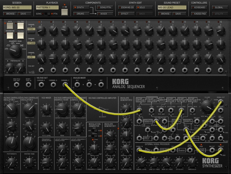 KORG iMS-20 screenshot-1