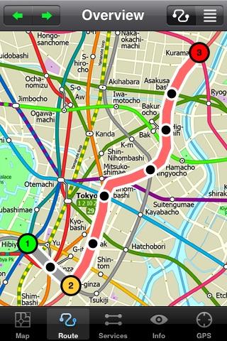 Tokyo Metro by Zuti screenshot-3