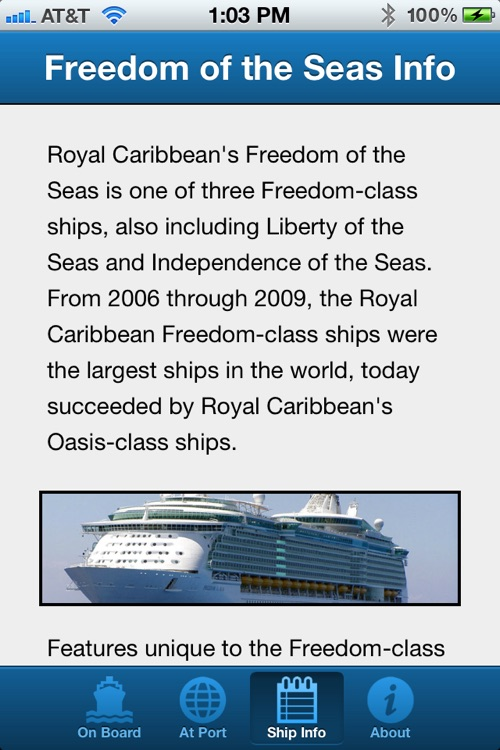 Royal Caribbean Freedom of the Seas Cruise Guide screenshot-4