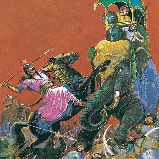 Rana Pratap - Pratap Singh of Mewar - Amar Chitra Katha Comics