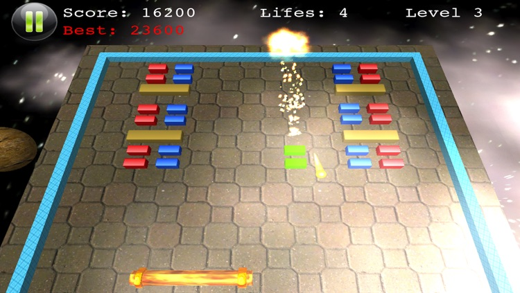 Block Smasher - Top Board Action Arcade Fun Brick Breaker 3D Breakout Free Game screenshot-0