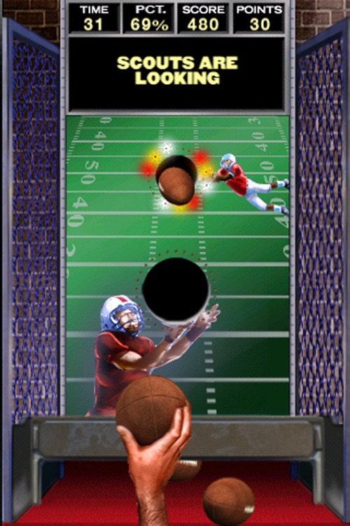 Arcade QB Pass Attack™ Football Free screenshot-3