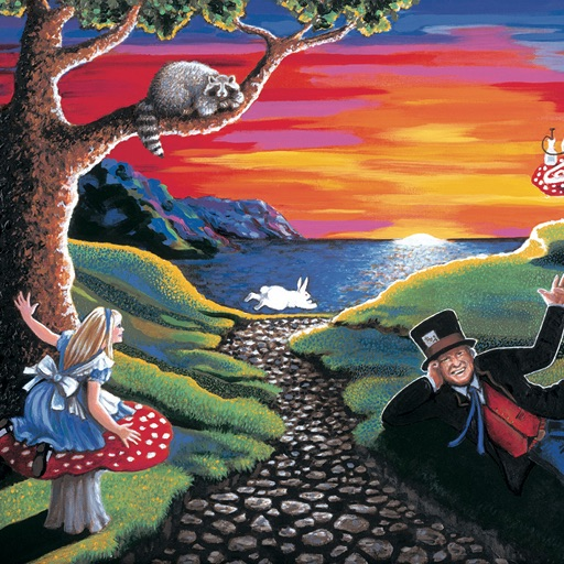 White Rabbit in Wonderland by Grace Slick