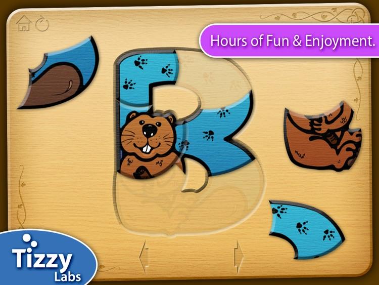 Tizzy Animal Alphabet Puzzles HD