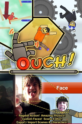 Screenshots of Ouch! Lite for iPhone