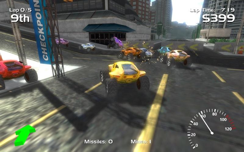 Hard Rock Racing Screenshot