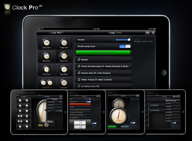 Clock Pro HD screenshot-4