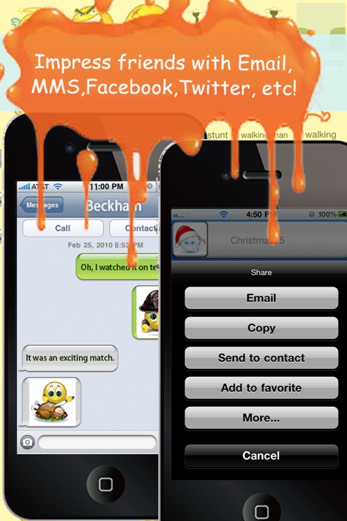 Animoticons+Emoji PRO for MMS & Facebook Text Messaging
