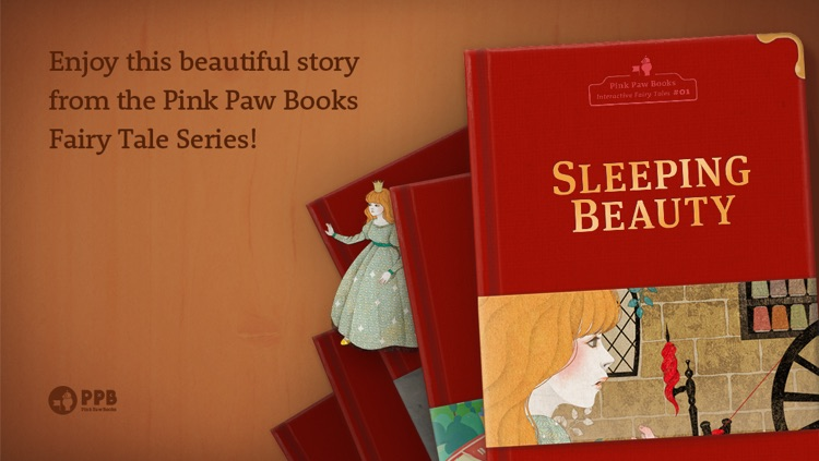Sleeping Beauty - Pink Paw Books Interactive Fairy Tale Series screenshot-4