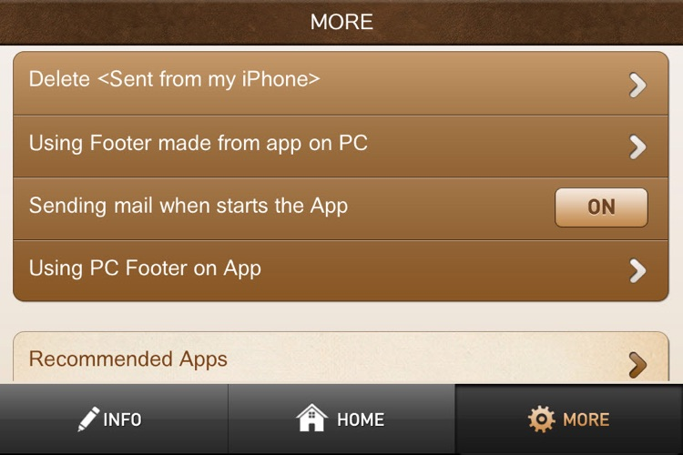 Mail Footer for Business screenshot-4