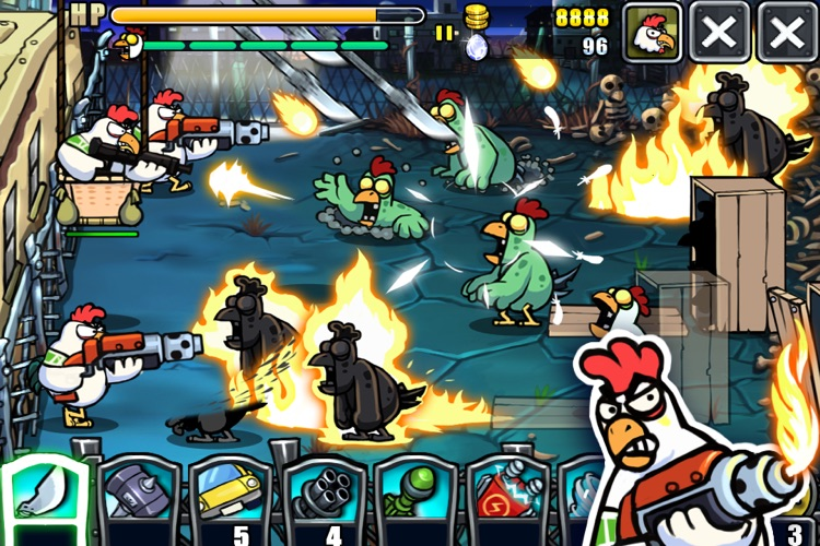 Chicken Revolution2 : Zombie screenshot-2