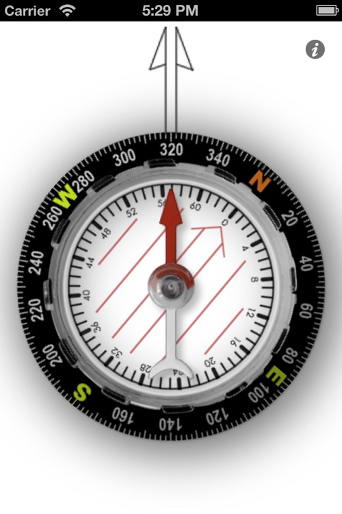Orienteering Compass screenshot-0