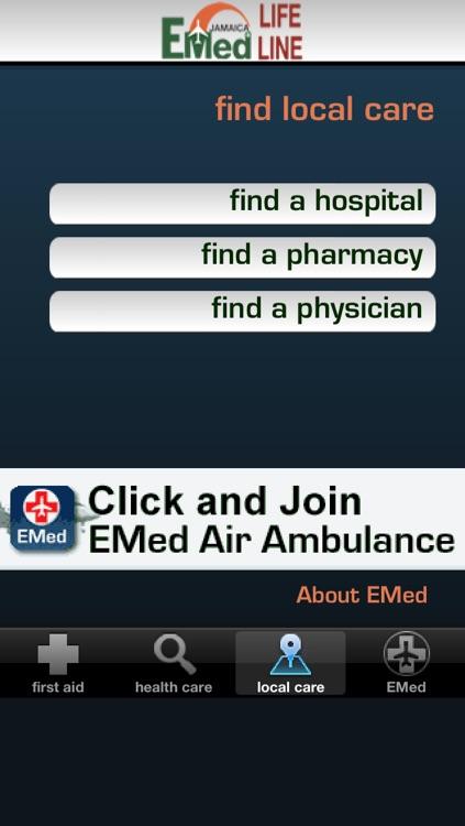 EMED JAMAICA LIFE LINE screenshot-3