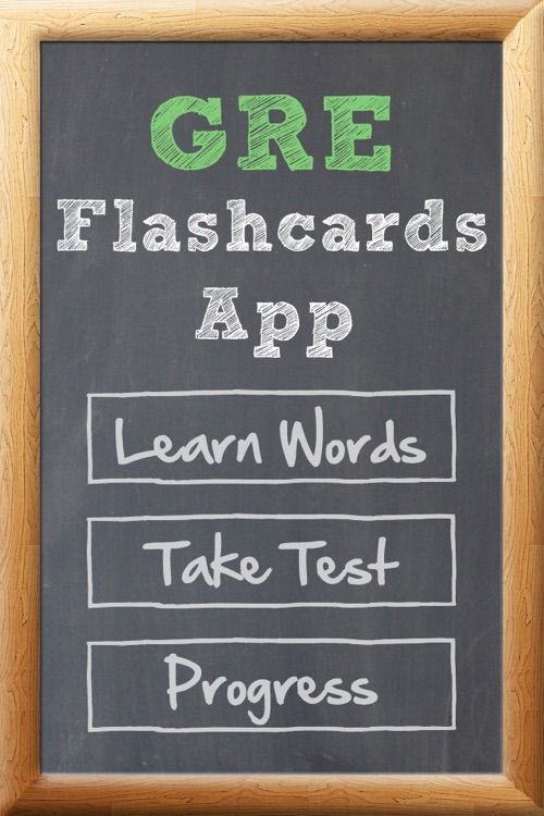 GRE Flash Cards App