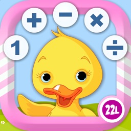 Math School Games Learning Counting, Addition, Multiplication & more for Kids from Preschool and Kindergarten to Grade 1 - 4 by Abby Monkey®