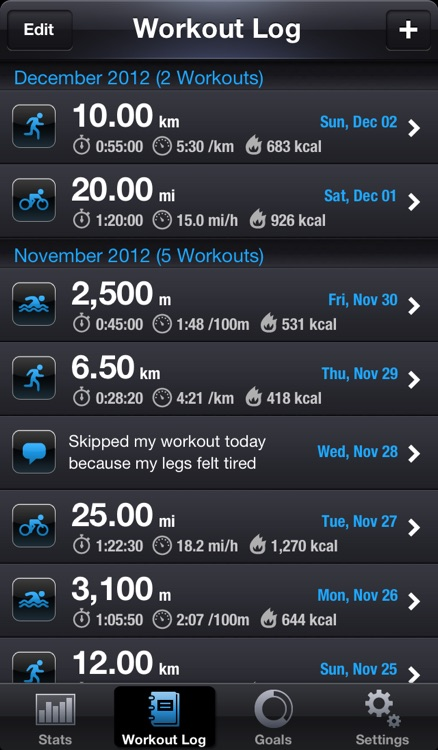 Active Goals for Running Cycling Swimming