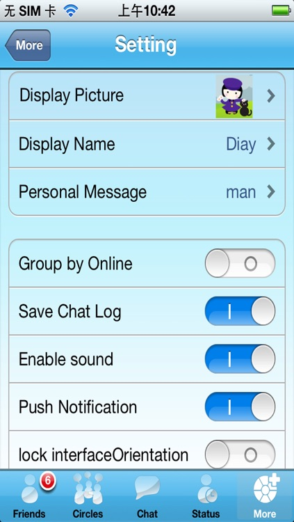 Live Messenger Pro screenshot-2