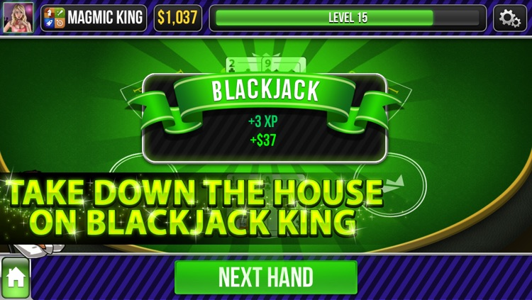 Blackjack King screenshot-2