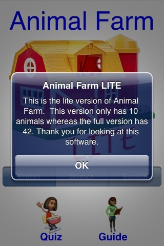 Animal Farm LITE screenshot-2