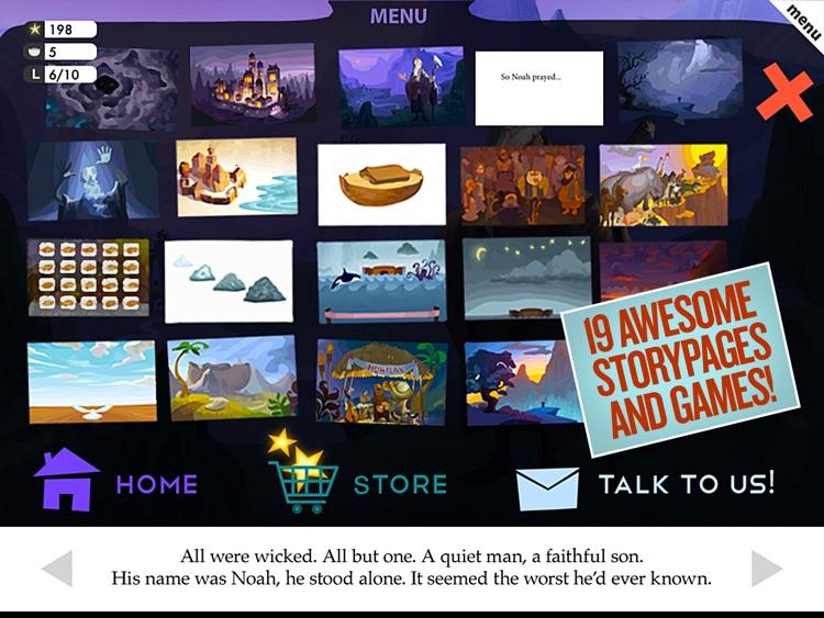 Noah 360 - An Irresistible Interactive Children's Bible Story screenshot-4